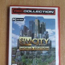 Videojuegos y Consolas: JUEGO SIM CITY 3000 WORLD EDITION PC CD ROM. Lote 233810165