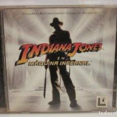 Videojogos e Consolas: INDIANA JONES Y LA MAQUINA INFERNAL - 2 X CD - PC - 1999 - VG+/VG. Lote 233815275