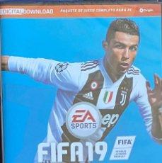 Videogiochi e Consoli: JUEGO SPORTS FUTBOL PC FIFA 19 PRECINTADO AQUITIENESLOQUEBUSCA ALMERIA. Lote 233860615