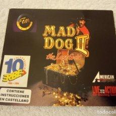 Videojuegos y Consolas: -JUEGO PC MAD DOG II EN BUSCA DEL ORO - EL MEJOR JUEGO DE SU EPOCA - VINTAGE. Lote 234549660