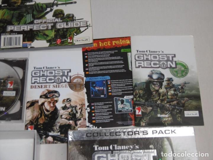 Videojuegos y Consolas: PC Ghost Recon Collectors Pack - Foto 4 - 234592025