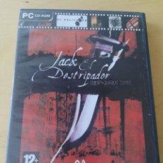 Videojuegos y Consolas: JUEGO PC JACK EL DESTRIPADOR. NUEVA YORK 1901.. Lote 234654570