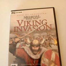 Videojuegos y Consolas: VIKING INVASION TOTAL WAR PC. Lote 234665345