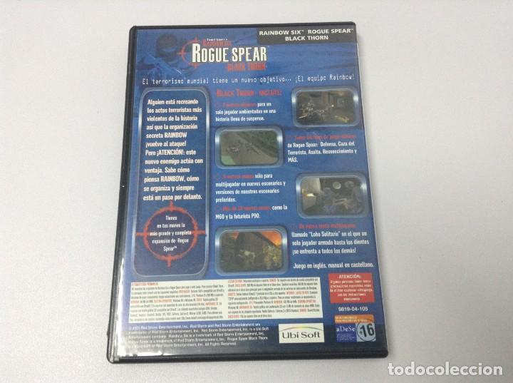 Videojuegos y Consolas: RAIBOW SIX ROGUE SPEAR BLACK THORN - Foto 2 - 234937200