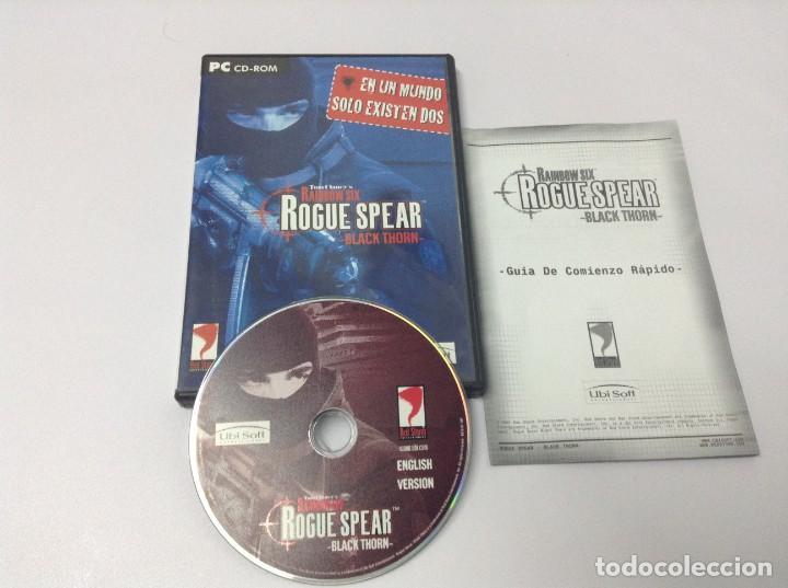 Videojuegos y Consolas: RAIBOW SIX ROGUE SPEAR BLACK THORN - Foto 3 - 234937200