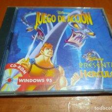 Videojuegos y Consolas: HERCULES. JUEGO DE ACCIÓN. DISNEY. CD-ROM PARA WINDOWS. EN CD. BUEN ESTADO.. Lote 235188590