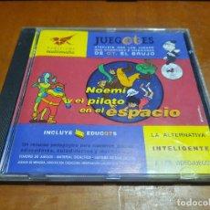 Videojuegos y Consolas: JUEGOTES. NOEMÍ Y EL PILOTO EN EL ESPACIO. EDUCOTS. CD Y DEMÁS EN BUEN ESTADO. DIFICIL DE CONSEGUIR. Lote 235189110