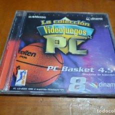 Videojuegos y Consolas: PC BASKET 4,5. LA COLECCIÓN DE VIDEOJUEGOS PARA PC. EL MUNDO. CD-ROM. BUEN ESTADO. Lote 235189420
