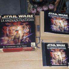 Videojuegos y Consolas: JUEGO PARA PC STAR WARS LA AMENAZA FANTASMA EPISODIO I. Lote 235922840