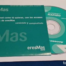Videojuegos y Consolas: PC CD ROM ( ERESMAS - ACCESO PREMIUM INTERNET RAPIDO ) SIN USO. Lote 236039750