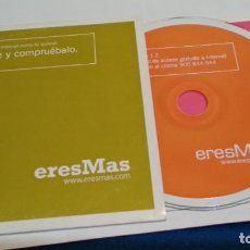 Videojuegos y Consolas: PC CD ROM ( ERESMAS - INTERNET RAPIDO ) SIN USO. Lote 236040190