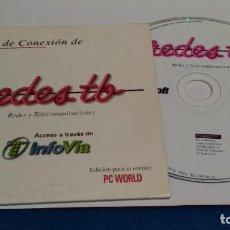 Videojuegos y Consolas: PC CD ROM ( PC WORLD - INFOVIA - REDES TB ). Lote 236043420