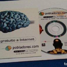 Videojuegos y Consolas: PC CD ROM ( POBLADORES - YO SOY YO PUEDO ). Lote 236043760