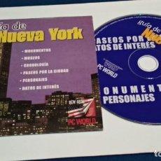 Videojuegos y Consolas: PC CD ROM ( GUIA DE NUEVA YORK - PC WORLD ) -. Lote 236055270