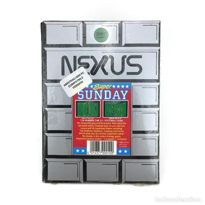 NEXUS PRECINTADO PRISM LEISURE CORPORATION FLOPPY DISK PC COMP AMSTRAD PC151W IBM MS DOS DISKETTE 5¼ (Juguetes - Videojuegos y Consolas - PC)