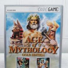 Videojuegos y Consolas: AGE OF MYTHOLOGY GOLD EDITION - INCLUYE 3 TITULOS DE LA SAGA - CON MANUAL USUARIO - PC DVD ROM. Lote 236442580