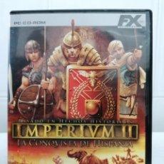 Videojuegos y Consolas: IMPERIUM II LA CONQUISTA DE HISPANIA - INCLUYE MANUAL USUARIO - PC DVD ROM. Lote 236443420