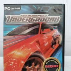Videojuegos y Consolas: NEED FOR SPEED UNDERGROUND - EA GAMES - PC DVD-ROM. Lote 236444715