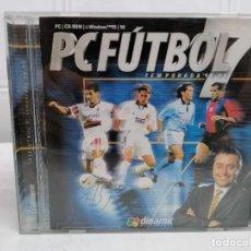 Videojuegos y Consolas: PC FUTBOL 7 ( TEMPORADA 98/99 ) - MICHAEL ROBINSON - DINAMIC MULTIMEDIA. Lote 236445400