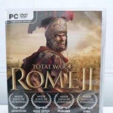 Videojuegos y Consolas: ROME II 2 TOTAL WAR - PC - MUY BUEN ESTADO - INCLUYE MANUAL - SEGA. Lote 236447475