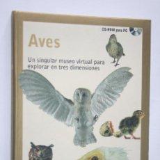 Videojuegos y Consolas: AVES ** CD ROM PC * COLECCION INTERACTIVA DIDÁCTICA Nº 5 * GOLD SERIE (ZETA MULTIMEDIA). Lote 236868120