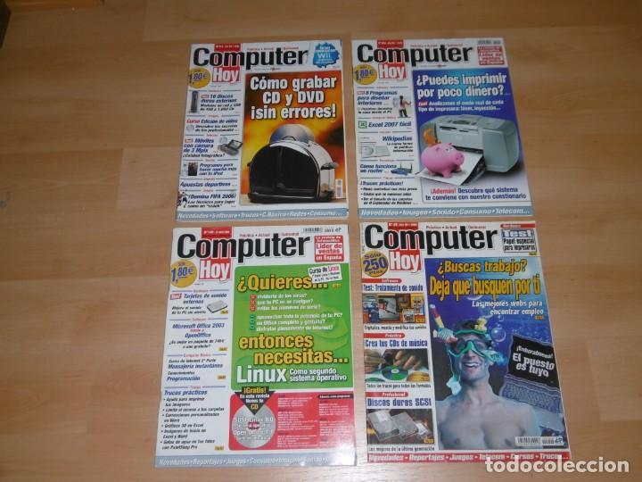 LOTE DE REVISTAS COMPUTER HOY 49 - 145 - 204 Y 210 (Juguetes - Videojuegos y Consolas - PC)