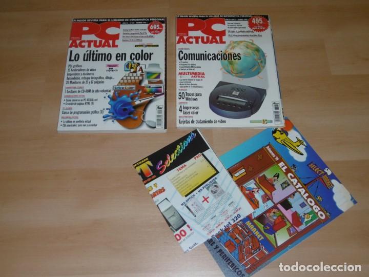 LOTE DE REVISTAS PC ACTUAL 62 Y 73 MARZO 1995 Y MARZO 1996 (Juguetes - Videojuegos y Consolas - PC)
