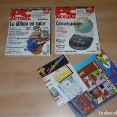 Videojuegos y Consolas: LOTE DE REVISTAS PC ACTUAL 62 Y 73 MARZO 1995 Y MARZO 1996. Lote 236970225