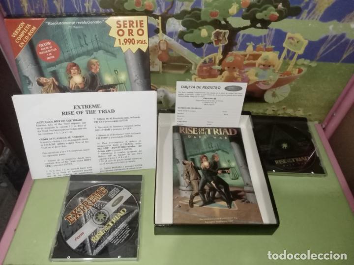 JUEGO RISE OF THE TRIAD + EXPANSION KIT EXTREME 2 CD ROM CAJA GRANDE (Juguetes - Videojuegos y Consolas - PC)