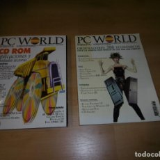 Videojuegos y Consolas: LOTE DE REVISTAS PC WORLD 71 Y 82 JULIO-AGOSTO 1992 Y NOVIEMBRE 1992. Lote 236970690
