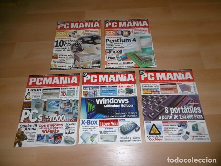 LOTE DE REVISTAS PCMANÍA 4 - 8 - 11 - 15 - 27 (Juguetes - Videojuegos y Consolas - PC)