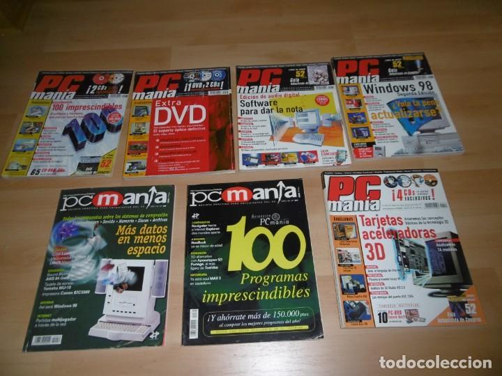 LOTE DE REVISTAS PCMANÍA 56 - 64 - 74 - 76 - 78 - 79 - 84 (Juguetes - Videojuegos y Consolas - PC)