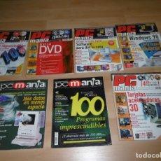 Videojuegos y Consolas: LOTE DE REVISTAS PCMANÍA 56 - 64 - 74 - 76 - 78 - 79 - 84. Lote 236971850