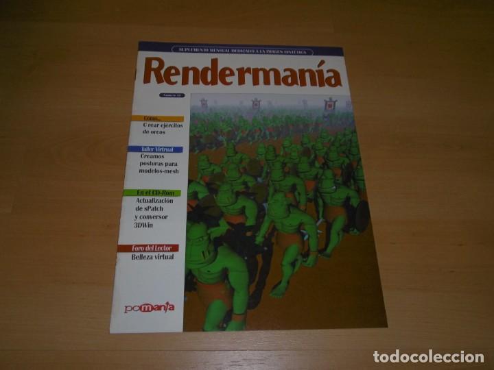REVISTA RENDERMANÍA Nº 14 (Juguetes - Videojuegos y Consolas - PC)