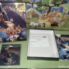 Videojuegos y Consolas: DIFÍCIL JUEGO WOLFENSTEIN 3D CAJA GRANDE. Lote 236975790