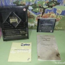 Videojuegos y Consolas: DIFÍCIL JUEGO FINAL DOOM CAJA GRANDE. Lote 236977560