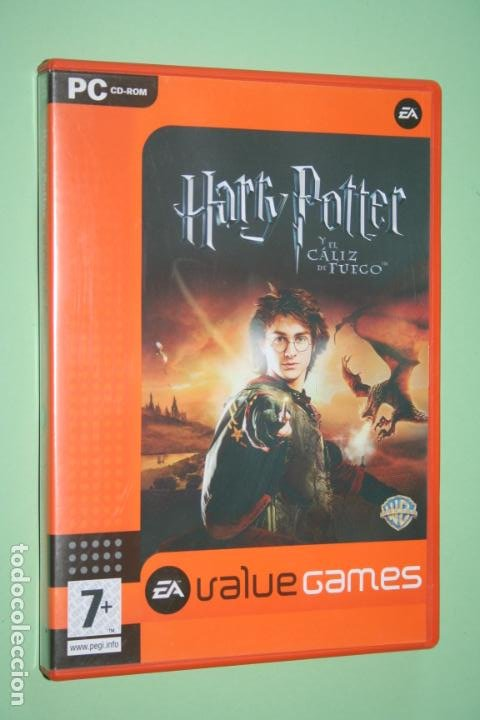 HARRY POTTER Y EL CALIZ DE ORO (WARNER BROS) * VIDEOJUEGO CD ROM PC * VALUE GAMES (Juguetes - Videojuegos y Consolas - PC)