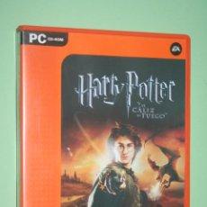 Videojuegos y Consolas: HARRY POTTER Y EL CALIZ DE ORO (WARNER BROS) * VIDEOJUEGO CD ROM PC * VALUE GAMES. Lote 236980390