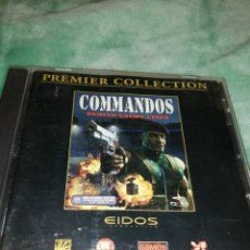 """Videojuegos y Consolas: JUEGO PC COMMANDOS """"BEHIN ENEMY LINES"""" PYRE & EIDOS. Lote 237003750"""