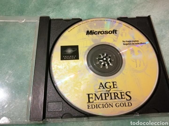 JUEGO PC MICROSOFT, AGE OF EMPIRES, EDICION GOLD (Juguetes - Videojuegos y Consolas - PC)