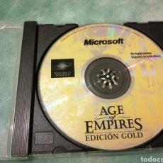Videojuegos y Consolas: JUEGO PC MICROSOFT, AGE OF EMPIRES, EDICION GOLD. Lote 237007980