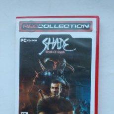 Videojuegos y Consolas: JUEGO PC SHADE: WRATH OF ANGELS (CENEGA, 2005). RED COLLECTION. TDK587. Lote 237287975