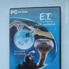 Videojuegos y Consolas: PC: E.T. EL EXTRATERRESTRE - EL 20 ANIVERSARIO - LA AVENTURA DE LA PELÍCULA. TDK587. Lote 237288205