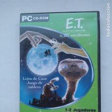Videojuegos y Consolas: PC: E.T. EL EXTRATERRESTRE - EL 20 ANIVERSARIO - LEJOS DE CASA JUEGO DE TABLERO. TDK587. Lote 237288365