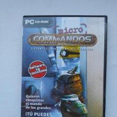 Videojuegos y Consolas: JUEGO PC CD- ROM MICRO COMMANDOS. NUEVO. TDK587. Lote 237289880