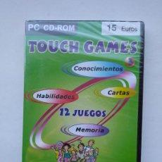 Videojuegos y Consolas: TOUCH GAMES. CONOCIMIENTOS. CARTAS. HABILIDADES. MEMORIA. PC CD-ROM. PARA TODA LA FAMILIA TDK587. Lote 237290250