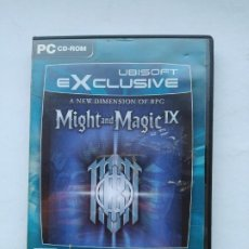 Videojuegos y Consolas: MIGHT AND MAGIC IX. A NEW DIMENSION OF RPG. UBISOFT EXLUSIVE. PC CD ROM. TDK587. Lote 237290805