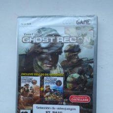 Videojuegos y Consolas: GHOST RECON. TOM CLANCY'S CODE GAME UBISOFT. PC JUEGO CD ROM. NUEVO. TDK587. Lote 237291740
