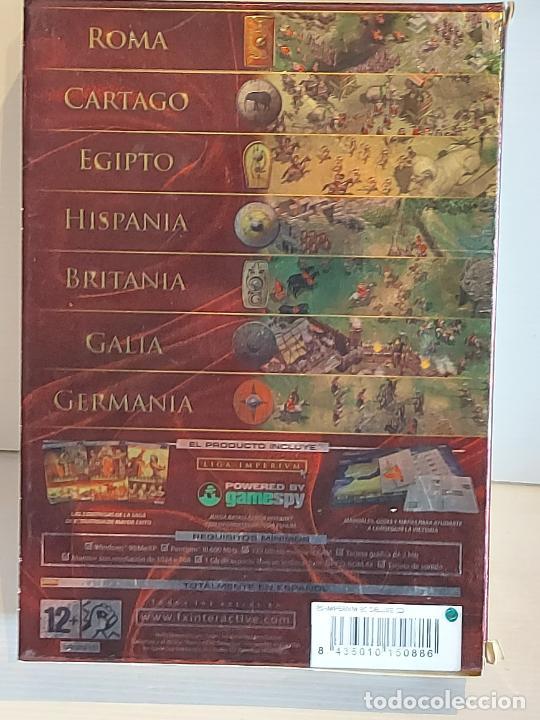 Videojuegos y Consolas: IMPERIUM / EDICIÓN COLECCIONISTA / BOX 3 PC.CD-ROM / MUY BUENA CALIDAD. OCASIÓN ! - Foto 4 - 237301990