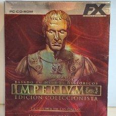 Videojuegos y Consolas: IMPERIUM / EDICIÓN COLECCIONISTA / BOX 3 PC.CD-ROM / MUY BUENA CALIDAD. OCASIÓN !. Lote 237301990